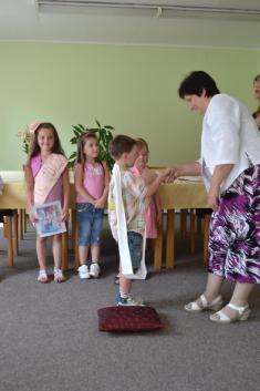 Pasování předškoláků 20.6. 2012