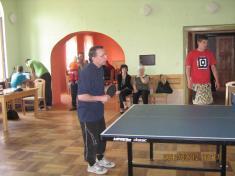 Turnaj-stolní tenis 24.4.2011